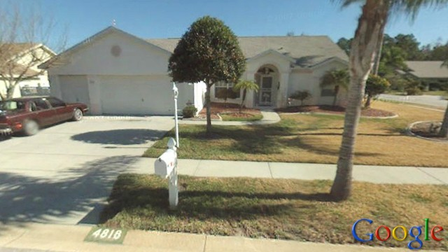 PHOTO: The home of a Florida couple being foreclosed on by Bank of America