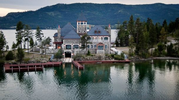 PHOTO: Shelter Island in Montana is for sale for 59.5 million dollars.
