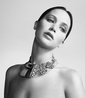 Jennifer Lawrence Models For Miss Dior