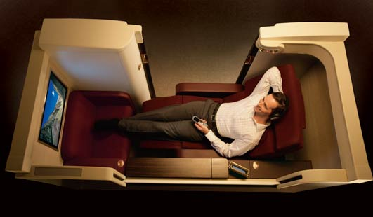 posh airline seats