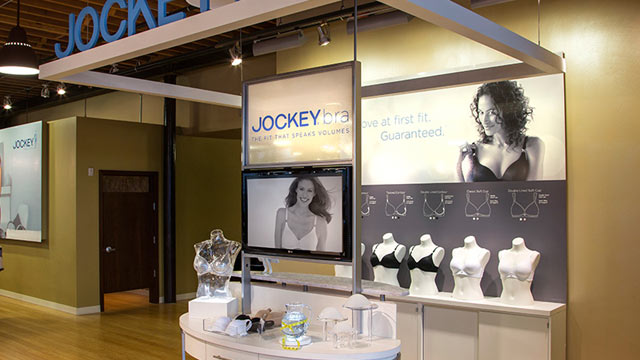 PHOTO: The JOCKEY bra boutique