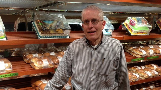 PHOTO: Joe Lueken inside Lueken's Village Foods in Bemidji, Minn. On Jan. 1, Lueken's Village Foods will begin transferring ownership to its approximately 400 employees through an Employee Stock Ownership Program.