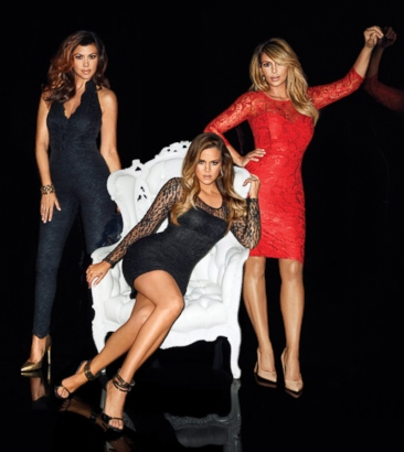 Kardashian Sisters' New Sears Holiday Fashion