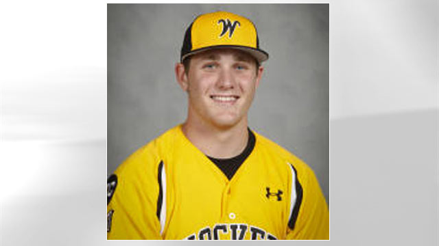 PHOTO: Kyle Bouman, seen in his Wichita State Shockers uniform, received help with his tuition payments fro