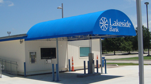 PHOTO Located in Lake Charles, Louisiana, the Lakeside Bank is the only new start-up bank to open in America this year.