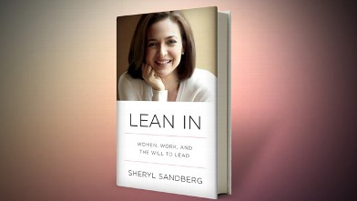 "PHOTO: Sheryl Sandberg's book, ""Lean In."""