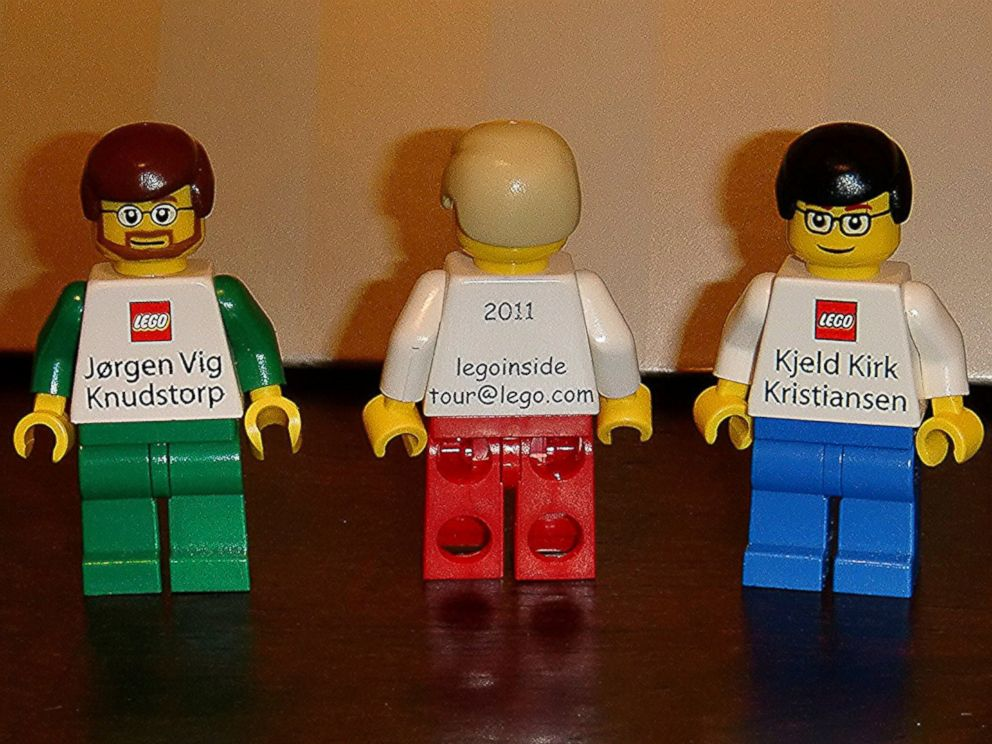 PHOTO: Eric Lumsden posted this image to Flickr with the caption, The LEGO Business cards I was given while on the LEGO Inside Tour on July 14, 2011.