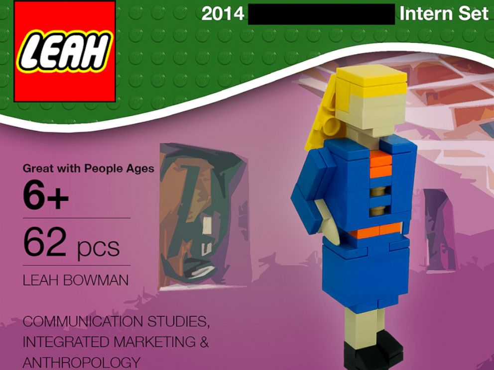 the best job application made of legos created by