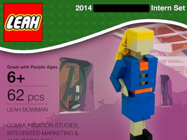 College Student Snaps Up Internship by Clever Use of Legos