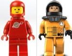 PHOTO: Lego and Mega Bloks figures