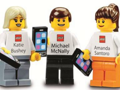 See Lego's Awesome 'Business Cards' for Executives