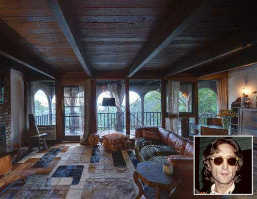 "John Lennon's Laurel Canyon ""Treehouse"" For Sale"