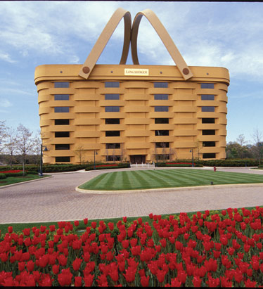 Strange Buildings/Longaberger Building