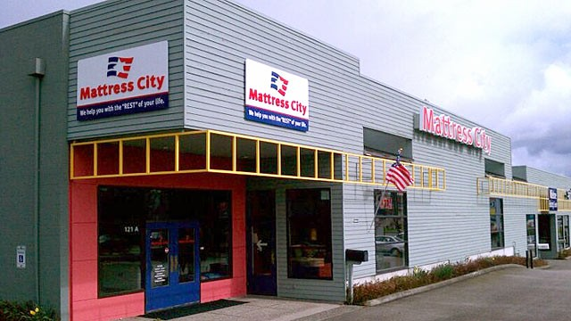 PHOTO: Mattress City in Everett, Wash.
