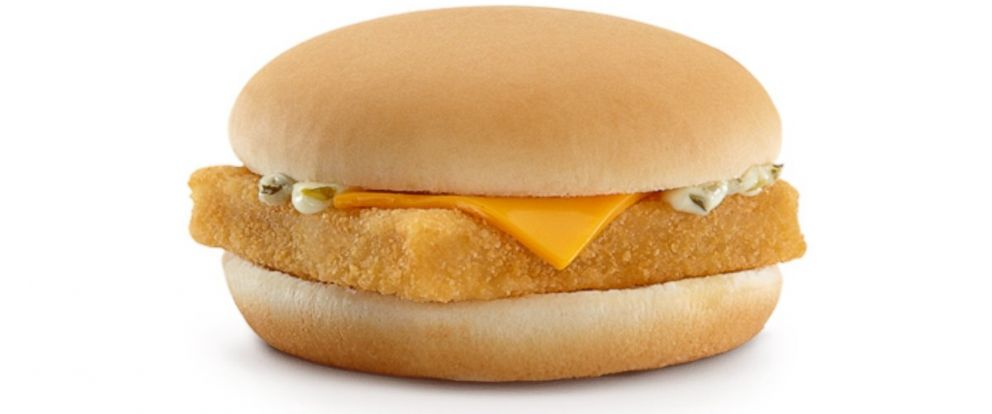 PHOTO: McDonald's Filet-O-Fish sandwich.