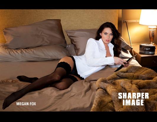 Megan Fox's Sharper Image Ad