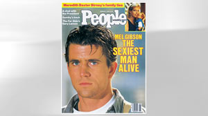 PHOTO Decades before late night TV hosts dubbed him the Craziest Man Alive, Mel Gibson put sexy on the map as People magazines inaugural cover hunk in 1985.