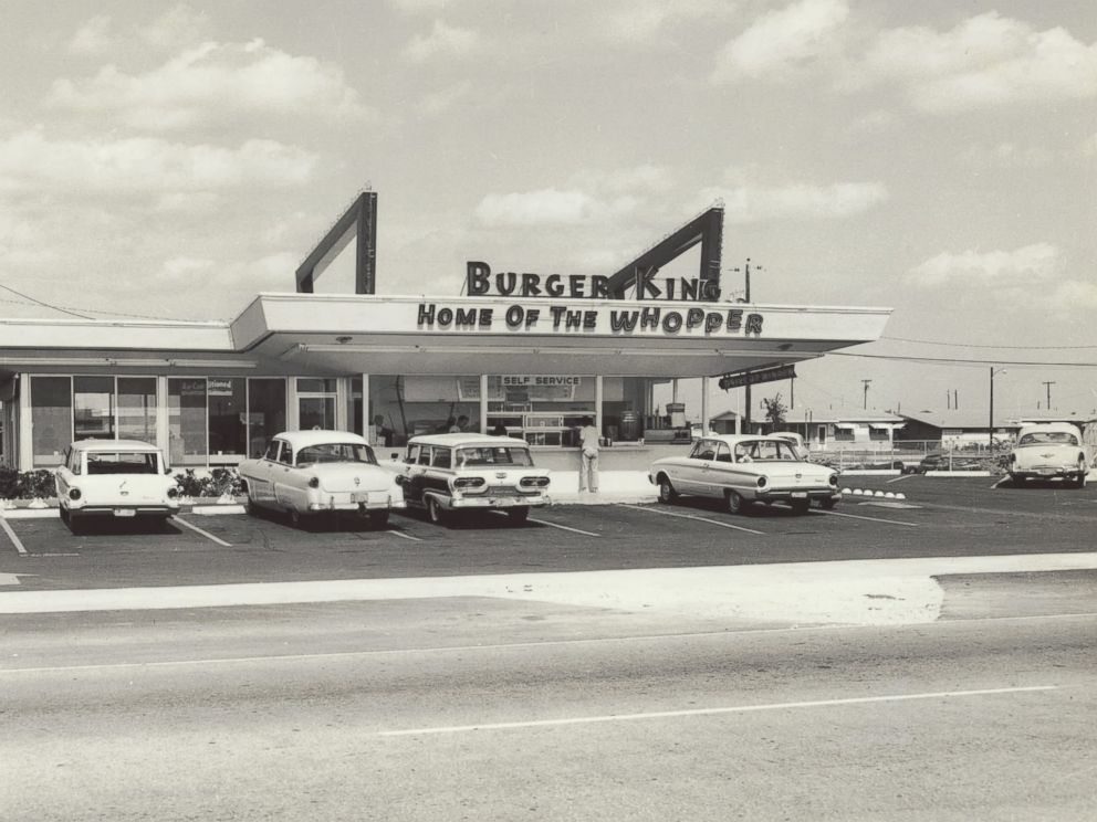 PHOTO: A burger King restaurant in Miami is seen in this 1954 file photo.