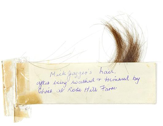 Mick Jagger Hair to be Auctioned