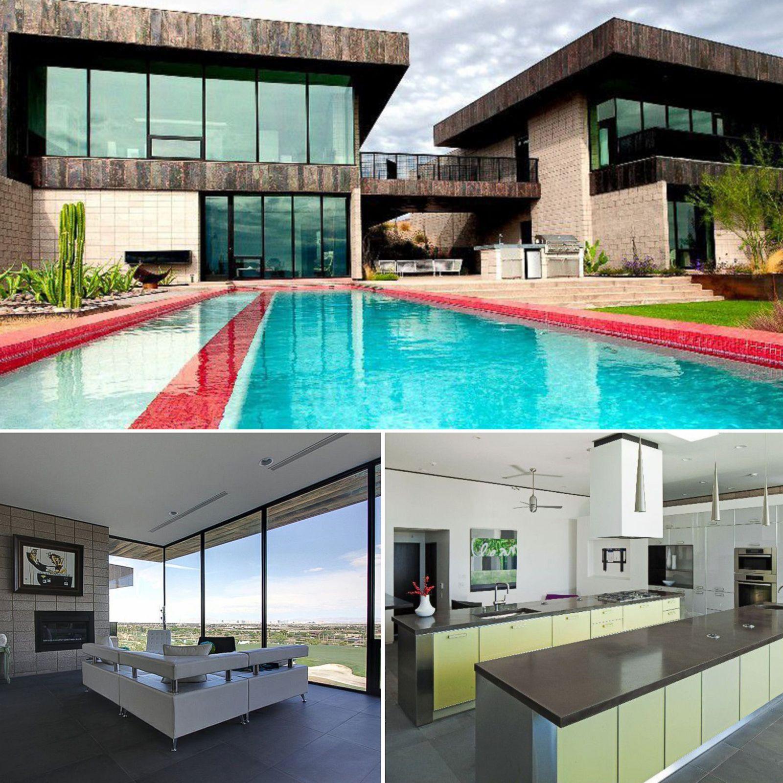 4 5 million las vegas wonder picture luxury minimalist for Minimalist homes for sale