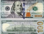 PHOTO:The new $100 bill will be released in Oct.