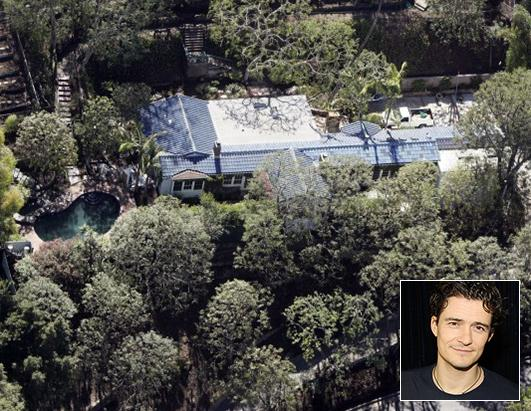 Orlando Bloom Lists Hollywood Hills Home