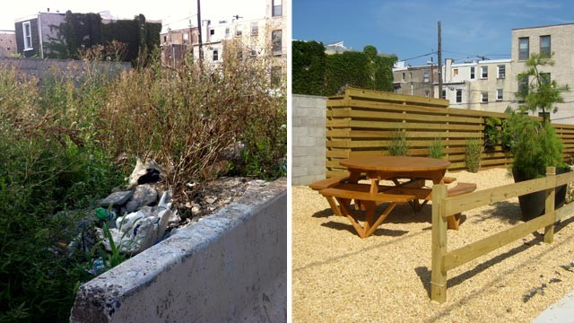 PHOTO: Developer Ori Feibush said he spent $20,000 to clean up a vacant lot in Philadelphia, to the disapproval of the city?s Office of Housing and Community Development.