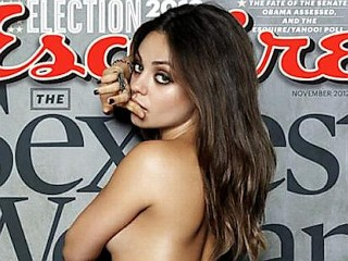 Photos: Mila Kunis' Topless Cover