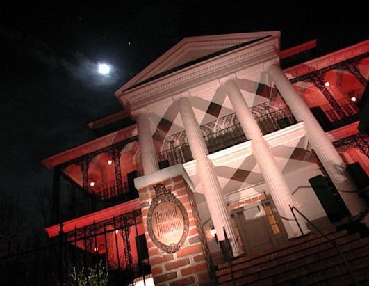 Replica Disney Haunted Mansion Home for Sale