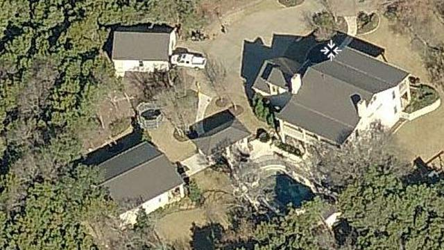PHOTO: Aerial view of Rick Perry's rented home