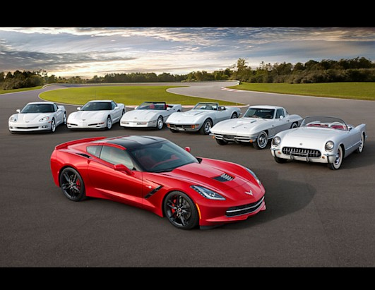 Chevy Corvette Turns 60 Photos Abc News