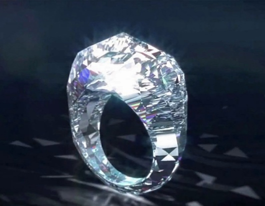 $70 Million All-Diamond Ring