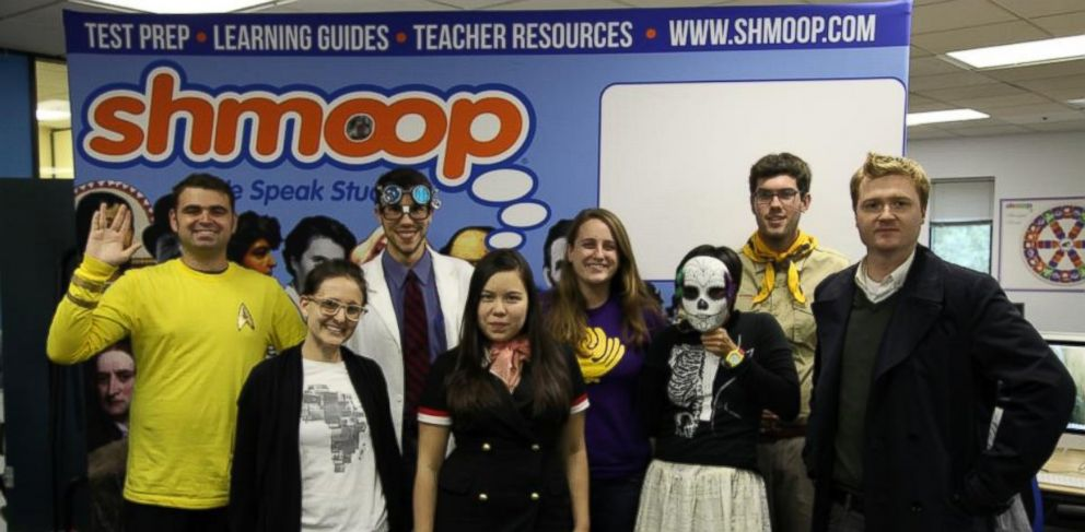PHOTO: Fun-loving staff of digital publisher Shmoop uses humor to make test prep, online courses, and videos fun for middle school and high school students.