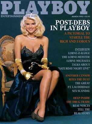 Playboy Covers Through the Years Anna Nicole Smith