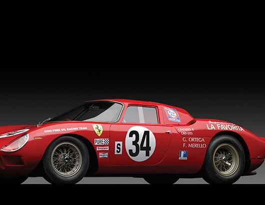 A 1961 Ferrari, Up For Auction