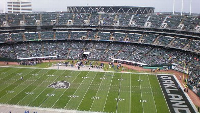 PHOTO: The Overstock.com Oakland Coliseum is seen in this undated photo.