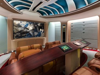 Photos: $35 Million 'Star Trek Mansion' For Sale