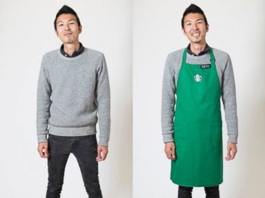 PHOTO: Starbucks reveals new dress code for employees.
