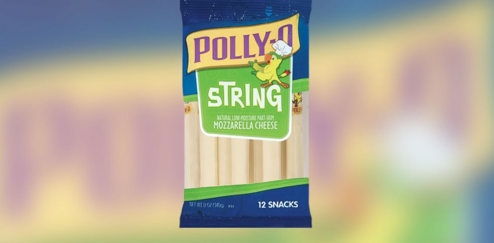 PHOTO: Pictured is Krafts Polly-O String Cheese.