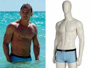 Photos: Bond Swim Trunks Auctioned