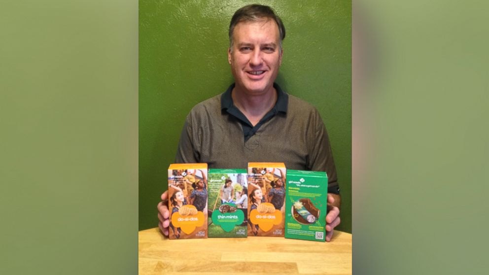 PHOTO: Tad Osborn's $42 worth of Girl Scout cookies turned into a more than $700 legal headache one year later.