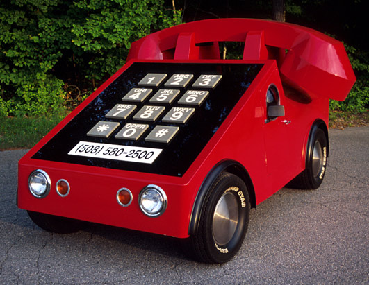 Crazy Cars/Telephone Car
