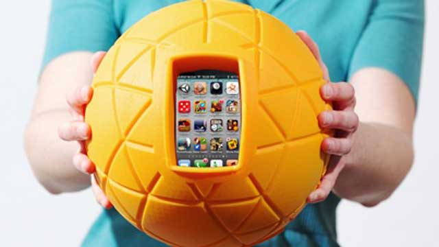 PHOTO: Campaign for a Commercial-Free Childhood released its selection of the toys that it believes embody the worst the marketplace has to offer, featuring TheO ball by Physical Apps.