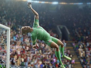 PHOTO: Tim Howard appears in the Nike Football animated video The Last Game released in June, 2014.
