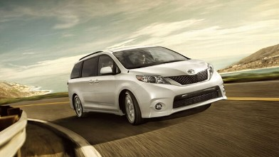 PHOTO: 2012 Toyota Sienna V6