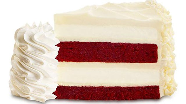 PHOTO: How many calories does The Cheesecake Factory's Ultimate Red Velvet Cake Cheesecake have?  Try 1540 per slice.