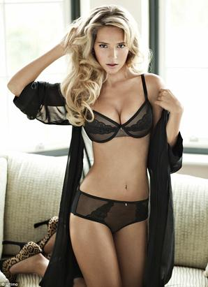 Michael Buble's Wife in Racy Ad