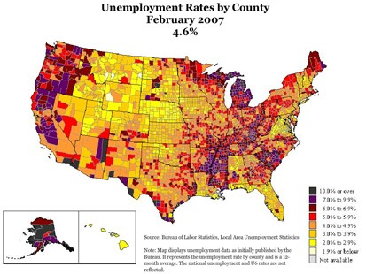 PHOTO The Decline: The Geography of a Recession