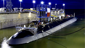 Photo: Hiring Bright Spot: Nuclear Submarine Plant: Private Sector Hiring Is Slow but Rhode Island Submarine Plant Is Looking for 450 New Tradesmen