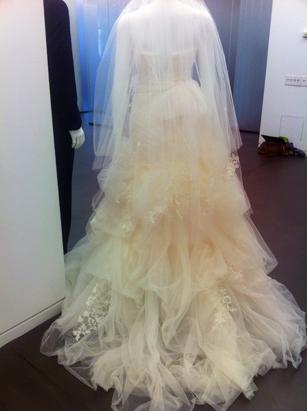 'Affordable' Vera Wang Spring 2013 Bridal Gown preview